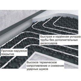 Плита Energofloor Pipelock